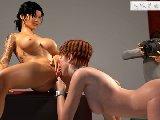 Sex guss mit schmutzigen lesben und erotische photoshoting