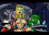 Vollbusig elf schlampe fickt mit ihrem monster krieger
