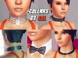 Sexy kragen erotische bands und weibliche krawatten