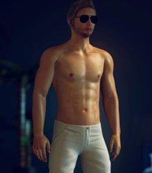 Homosexuell Spiele mit Gay männlichen 3D Geschlechts