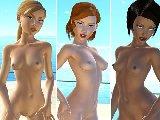 Sexy lesben in erotischen bikini