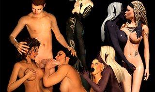 Monster Sex Spiele voller epischen Elfen und mystische ficken