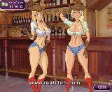 Sexy cowgirls mit glatten bauche und grose bruste