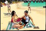 Frau mit nackten brust verfuhrt einen mann am strand