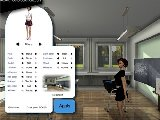 Interaktive virtuelle sex simulation mit sexy schulmadchen