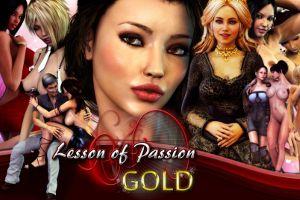 Erotische Flash Spiele von Lesson of Passion Gold